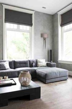 Grey, Couch and Living rooms