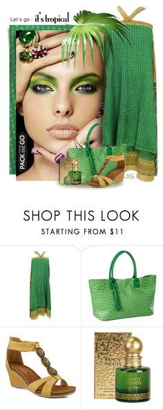 """""""Pack and Go: Rio"""" by breathing-style ❤ liked on Polyvore featuring Clava, Patrizia and Jessica Simpson"""