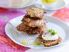 Weißkrautpuffer mit Leinölquark ist ein Rezept mit frischen Zutaten aus der Kategorie Gemüse. Probieren Sie dieses und weitere Rezepte von EAT SMARTER!