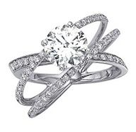 """4:12 says """"a cord of 3 strands is not quickly broken"""" 3 crossing wedding bands meaning God, Husband and wife"""