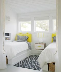 beautiful colors for lake cottage bedroom Excellent Bedroom Storage Ideas for Small Spaces