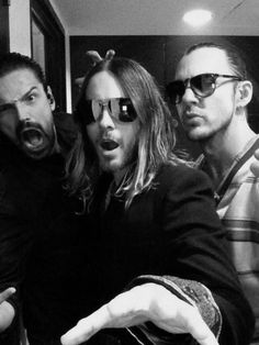 Mars at iTunes festival Thirty Seconds To Mars, 30 Seconds, Drag Music, Rock Music, Summer Music Festivals, Life On Mars, Shannon Leto, Just Jared, Most Beautiful Man
