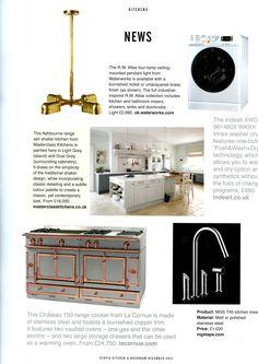 The Chic Chateau 150 range cooker from La Cornue. lacornue.com/en/ Utopia December 2015