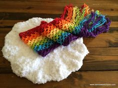 Looking for your next project? You're going to love Rainbow Baby Photo Prop Newborn Cloud by designer SemiSweetCharm.