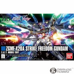 (38.10$)  Buy here - http://ai3b6.worlditems.win/all/product.php?id=32776846989 - OHS Bandai HGUC 201 1/144 ZGMF-X20A Strike Freedom Gundam Mobile Suit Assembly Model Kits