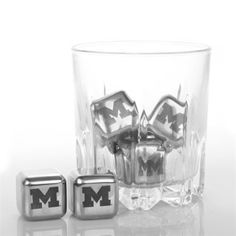 Michigan Wolverines Steel Cube Set of 6 | Michigan Wolverines | U of M Go Blue | University of Michigan
