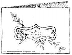 art scrap & more: a sketch a Card - Easter