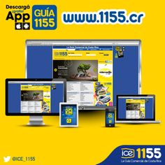 Ingresá a www.1155.cr  La guía desde tu Pc, tablet o movil.