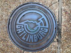 Gatlinburg Tennessee Man Hole Covers May 2014
