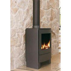 Traditional Freestanding Fireplace from Nestor Martin, Model: R45