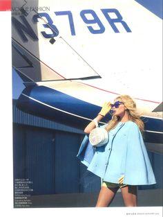 The DITA Hurricane featured in Vogue China's January issue #DITAeyewear