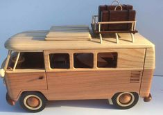 Check Out These Tips About Wooden Toy plans Woodworking is both a valuable trade and an artistic skill. There are many facets to woodworking which is why it is so enjoyable. Wooden Plane, Wooden Truck, Wooden Car, Wooden Blocks, Making Wooden Toys, Wood Toys Plans, Woodworking Toys, Vw T1, Wooden Crafts