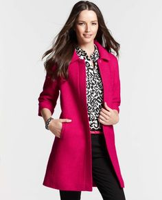 Bubble Tweed Topper from Ann Taylor - my new fall coat! :) can't wait for it to get here!