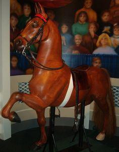 Wooden Rocking Horse - Saddlebred.
