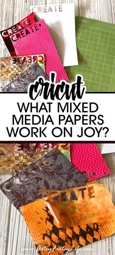 As a mixed media artist I loved the idea of using the Cricut Joy to cut out letters, do stencils and mask, but first I needed to know what kind of paper the Cricut Joy could cut! Here are my best tips and ideas for how to pick the right kind of paper for the Joy! Cut Out Letters, I Need To Know, Adult Crafts, Mixed Media Artists, Artsy Fartsy, Picnic Blanket, Stencils, I Am Awesome, Cricut