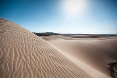 the white dunes of muine - Vietnam