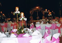 Wedding setup by Delica Catering Services