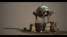 ArtStation - Seymour Stone Well, Dzmitry Doryn