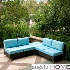 Overstock napa springs brings you a bold and beautiful indoor outdoor wicker furniture set Angelo home patio furniture