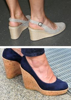 kate middleton's blue wedge shoes
