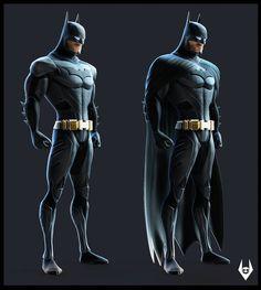 Batman Dark Knight - Animated Series by ~Arte-Animada