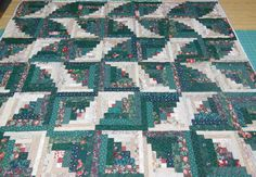 Emily's Log Cabin Quilt design