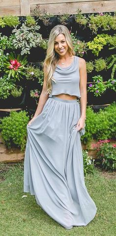 2019 Cheap New Design Popular Simple Two Pieces Bridesmaid Dresses, wedding guest dress, 2019 Cheap New Design Popular Simple Two Pieces Bridesmaid Dresses, wedding guest dress, - Prom Dresses Design Two Piece Bridesmaid Dresses, Bridesmaid Separates, Blue Bridesmaids, Fall Wedding Dresses, Fall Dresses, Prom Dresses, Trendy Dresses, Cheap Dresses, Dress Backs