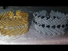 Beaded Braclets, Beaded Bracelet Patterns, Seed Bead Tutorials, Jewelry Making Tutorials, Jewelry Making Beads, Diy Jewellery Designs, Bead Jewellery, Earring Tutorial, Beaded Jewelry
