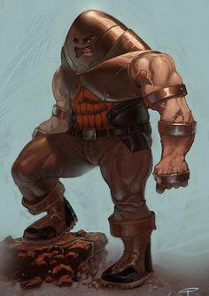 The Juggernaut by Angel Palacios