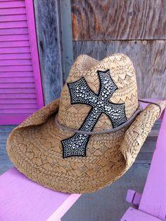 Cowgirl Clad Company - Tan Straw Cowgirl Hat, $24.00 (http://www.cowgirlclad.com/tan-straw-cowgirl-hat/)