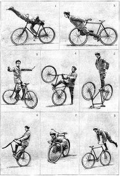 Bicycle exercises!