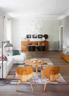 Sillas Molded de Charles Eames