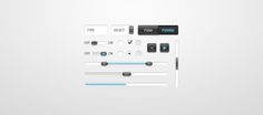 UI Kit PSD by Adam Tolman.#interface