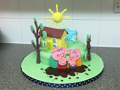 Peppa Pig Peppa Pig, Cakes, Desserts, Food, Tailgate Desserts, Deserts, Cake Makers, Kuchen, Essen