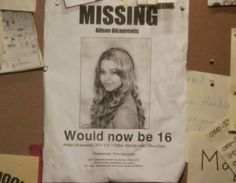 "Pretty Little Liars PORTUGAL: Agosto 2013: Ali's ""Missing"" poster"