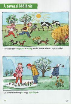 Kis tudósok szókincstára - Évszakok - Kiss Virág - Picasa Webalbumok Kindergarten, Environment, Seasons, Education, Spring, Nature, Animals, Fictional Characters, Naturaleza