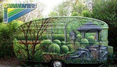 Un camping car assez discret! dans le theme #insolite #campingcar #vert #campingcar_vert #couleurcamping #car #original #camping   #accessoirescampingcar sur http://caravaning-univers.com/