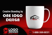 Stunning #Logo Design for PACK Properties. Get Your Stationary done today. Visit: http://www.onelogodesign.com/ #logo #logodesign #branding #design