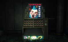 Bioshock vending - Welcome to the Circus of Values