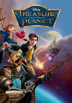 "When space galleon cabin boy Jim Hawkins discovers a map to an intergalactic ""loot of a thousand worlds,"" a cyborg cook named John Silver teaches him to battle supernovas and space storms. But soon, Jim realizes Silver is a pirate intent on mutiny!"