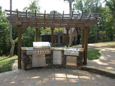 The Luxury And Spectacular View In Beauty Decor Cheap Outdoor Kitchen Ideas  At Elegant House Outdoor