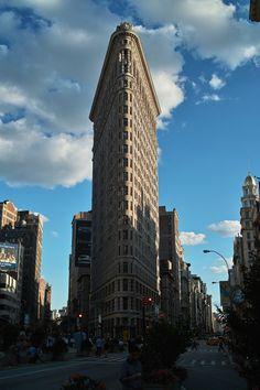 Flatiron Building - New York City - USA (bycarlfbagge)