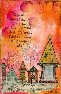 Colorfull art journal, I like it!