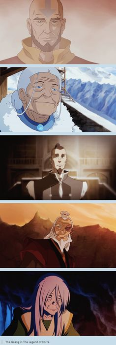 The gaang!!!! I want to see more Sokka flashbacks