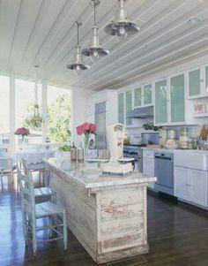 dream kitchen! www.mottandchace.com  Rhode Island