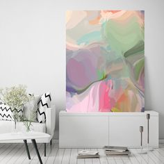 Sensitivity, Green Pink Abstract Painting, Abstract Green Pink Painting, Abstract Green Canvas Print up to by Irena Orlov Pink Canvas Art, Abstract Canvas Art, Pink Abstract, Acrylic Painting Canvas, Canvas Art Prints, Painting Abstract, Painting Art, Pink Painting, Painting Prints