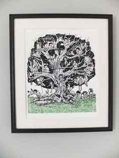 Feral Children Screen Print by thehungryfox on Etsy, $20.00