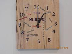 Clock for Nurses by WagonerEnterprises on Etsy