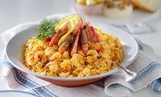 Härligt gott blir det när curryn i kryddsmöret bla. Parmesan, Fried Rice, Risotto, Fries, Curry, Ethnic Recipes, Food, Kalay, Curries