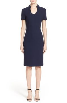 St. John Collection Micro Bouclé Sheath Dress available at #Nordstrom
